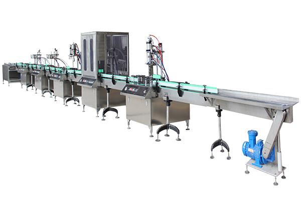 全自动二元气雾剂灌装机生产线TK203